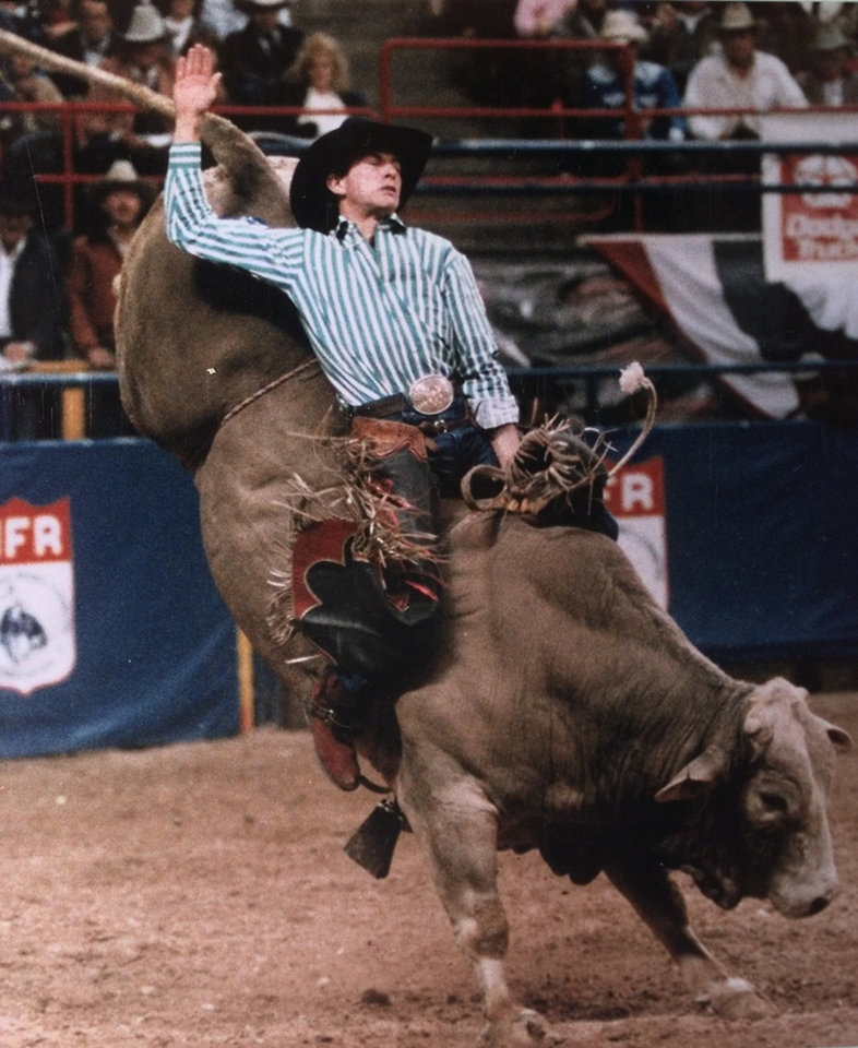 Photo - Copy photo of Lane Frost, bull rider  (deceased 07/30/89)