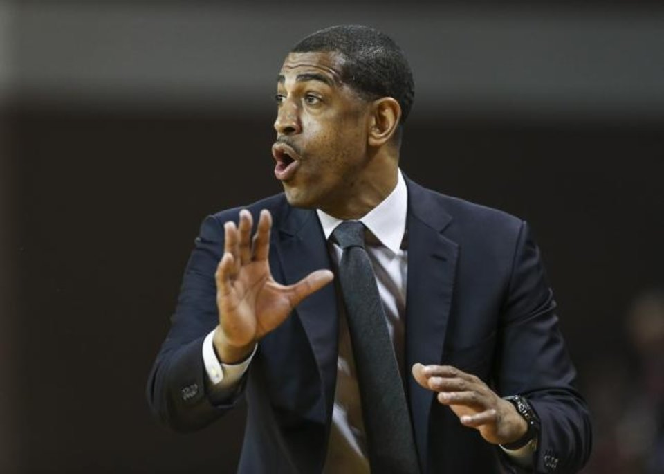Photo -  Kevin Ollie coached Connecticut to the 2014 NCAA title but hasn't coached since being fired in 2018. [Troy Taormina/USA TODAY Sports]