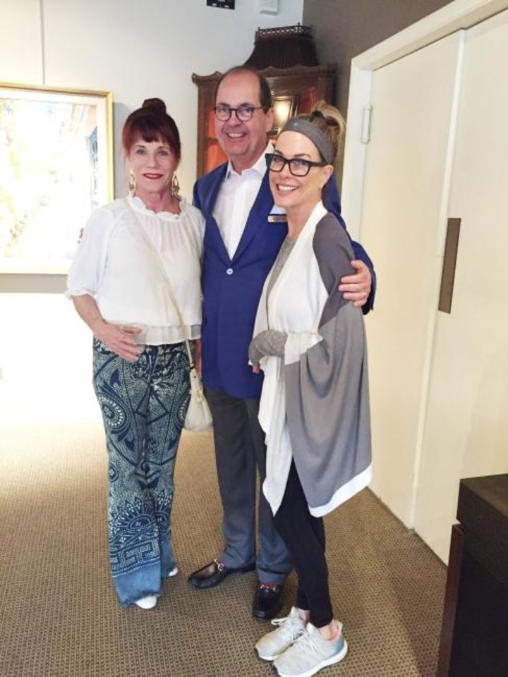 Photo -  Julie Coyle, Nick Berry and Christi Coyle. [PHOTOS PROVIDED]