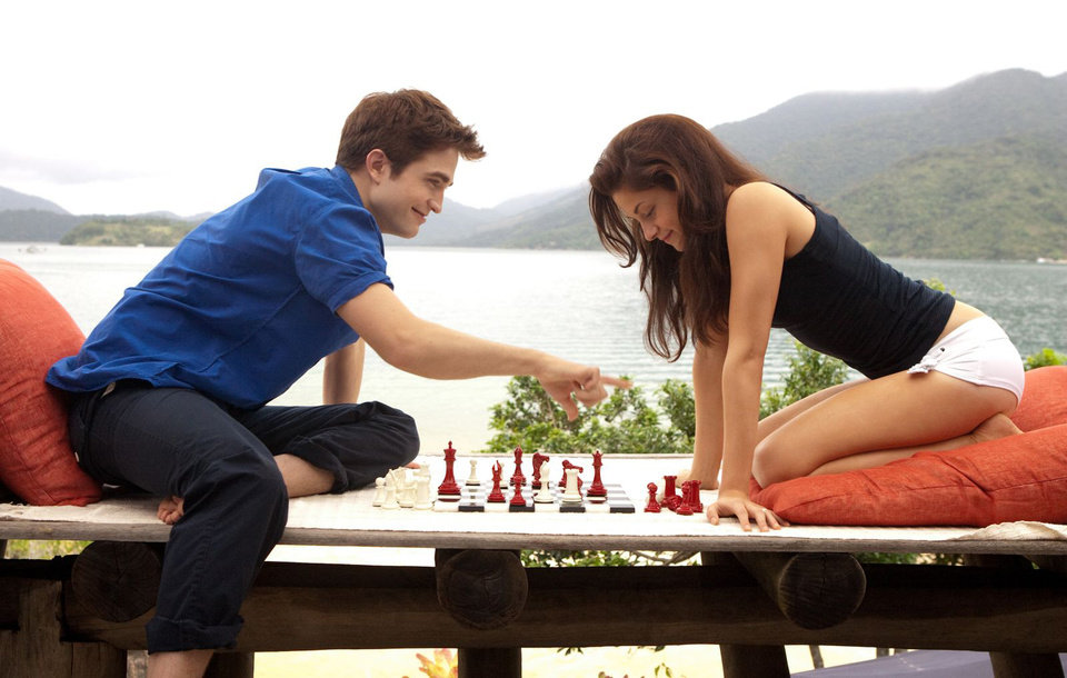 Photo - ROBERT PATTINSON and KRISTEN STEWART star in THE TWILIGHT SAGA: BREAKING DAWN-PART 1        Ph: Andrew Cooper, SMPSP    © 2011 Summit Entertainment, LLC.  All rights reserved.