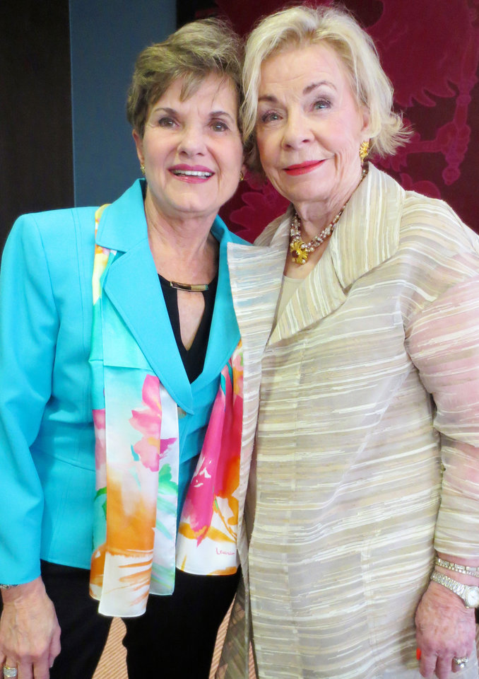 Photo - Donna Rinehart-Keever, Joan Maguire. PHOTO BY HELEN FORD WALLACE