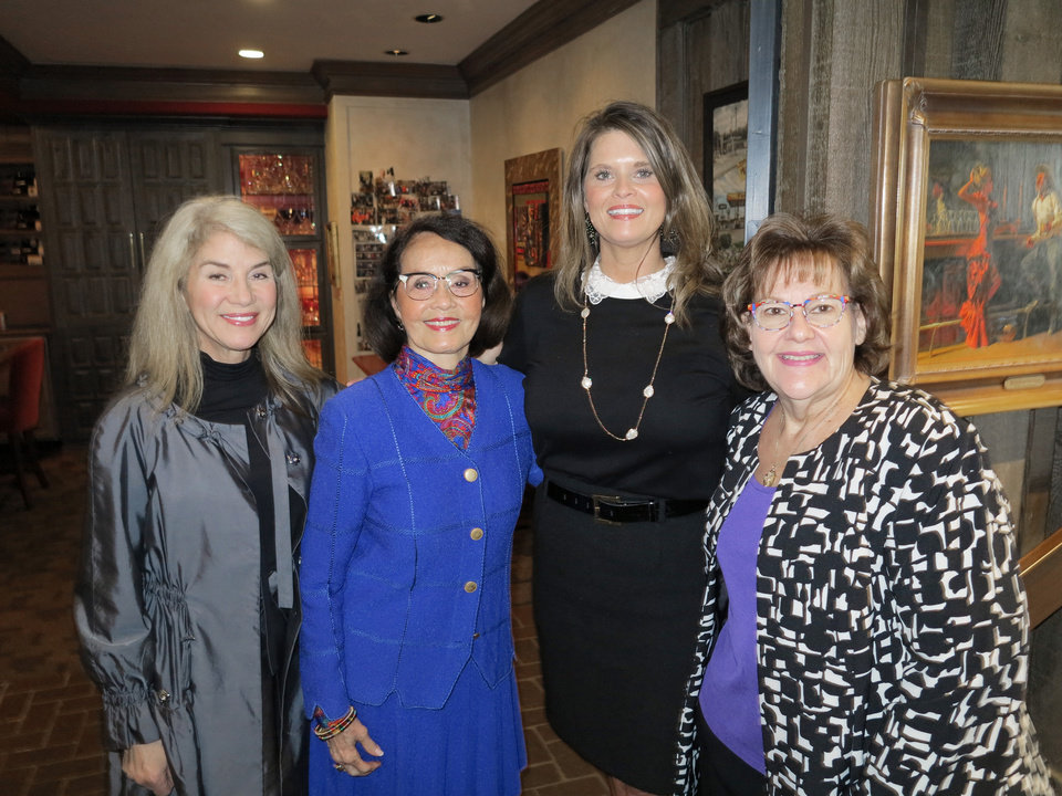 Photo - Sue Ann Arnall, Terri Cooper, Shannon Rich, Gayle Semtner. PHOTO PROVIDED