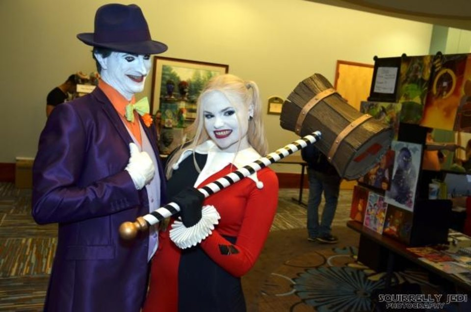 Photo -  Costuming, or cosplaying, as favorite characters is a celebrated SoonerCon activity. [photo provided]