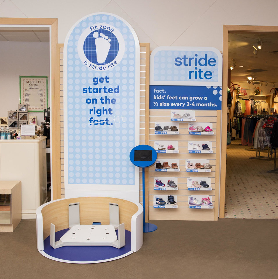 Photo - The Fit Zone by Stride Rite at Dillard's. One is located at Dillard's in Penn Square in Oklahoma City.