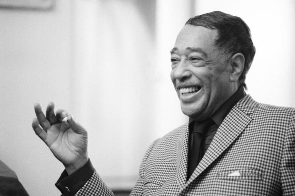 Photo -  Duke Ellington is seen on April 24, 1969, in New York. [AP Photo/John Duricka, file]