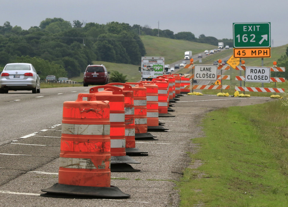 Interstate work around Oklahoma City could frazzle motorists