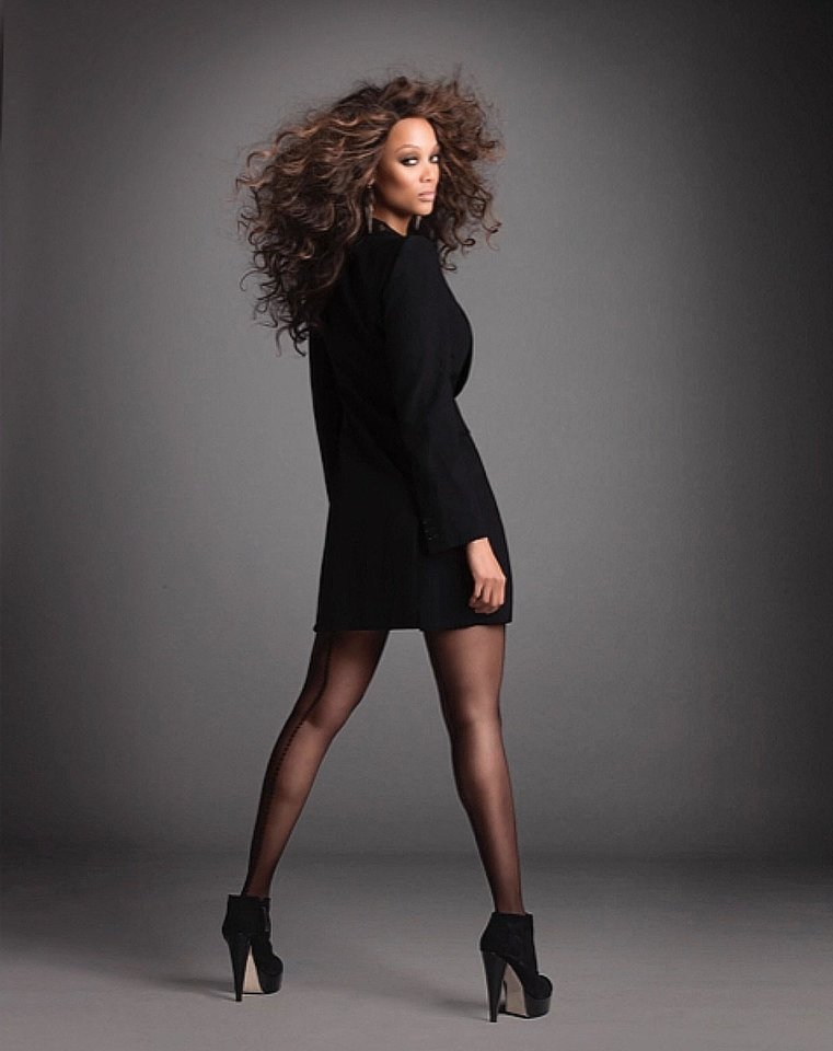 Photo - Supermodel and entrepreneur Tyra Banks. Photo Credit: Matthew Jordan Smith