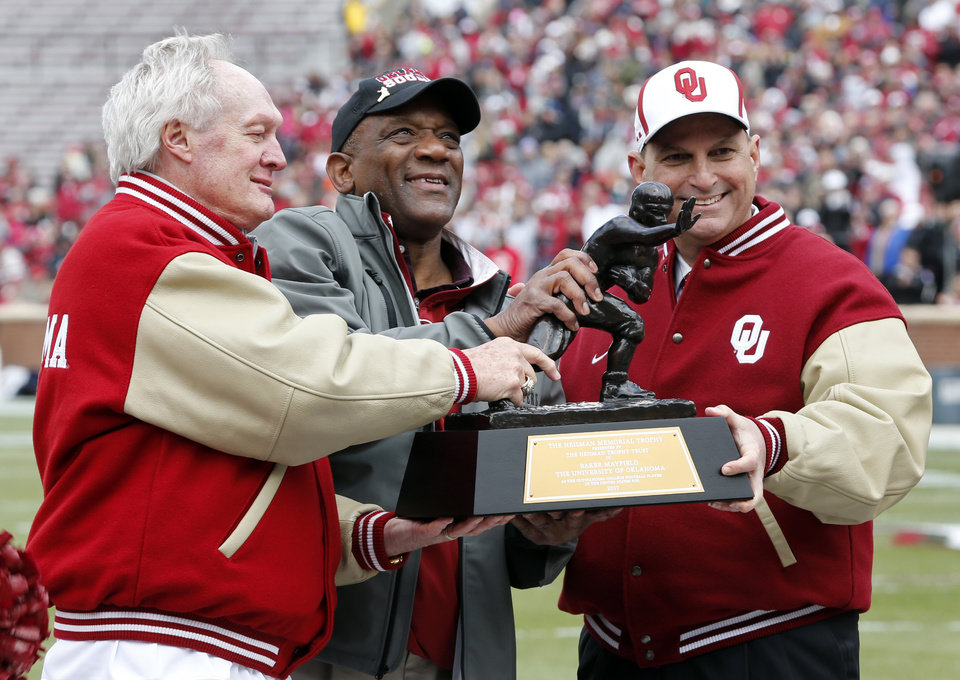 OU ranks second in all-time Heisman voting