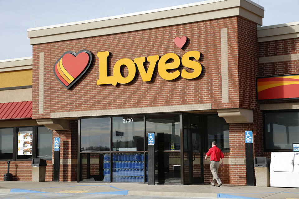 Photo -  Love's is the first major retailer where GasBuddy app users can use the app's payment service feature to buy fuel. [The Oklahoman Archives]