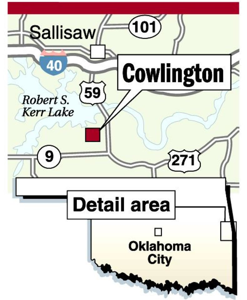 I 40 Oklahoma Map.Quarry Has Town In Rocky Position Article Photos