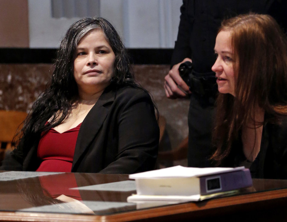 Photo -  Juanita Martinez Gomez was convicted Thursday of killing her daughter. [Photo by Steve Sisney, The Oklahoman]