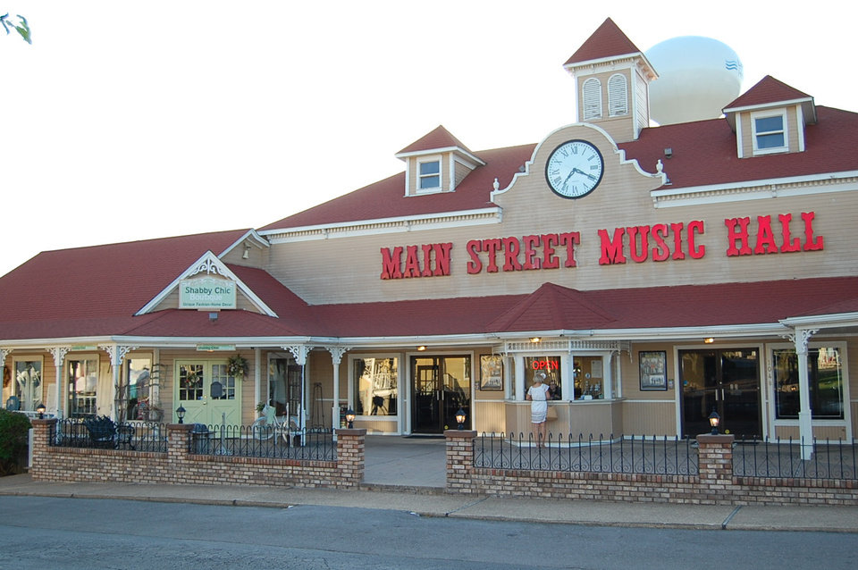 Photo -  Main Street Music Hall in Osage Beach, Missouri. [Photo by Annette Price]