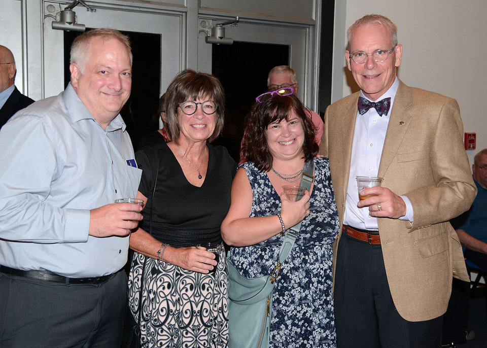 Photo - Tom Glathar, Susie Stussi, Elizabeth Glathar, Doug Stussi. PHOTO PROVIDED