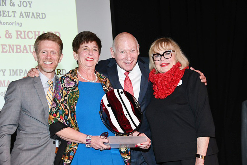 Photo - Barry Schmelzenbach, Glenna Tanenbaum, Richard Tanenbaum, Joy Reed Belt. FRAN KOZAKOWSKI PHOTO