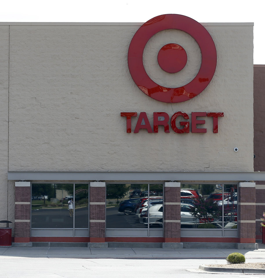 Photo -  National discount stores like Target at 5400 N May Ave. have weathered the coronavirus storm better than most other retailers, according to Price Edwards & Co.'s midyear retail property market summary. [BRYAN TERRY/THE OKLAHOMAN]