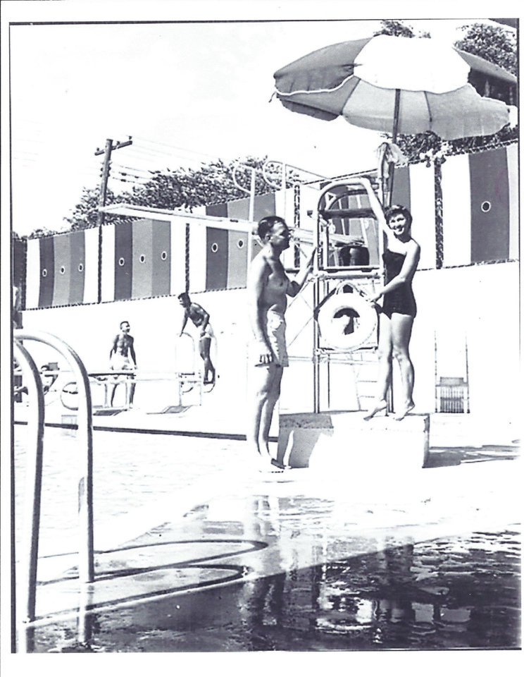 Photo - The Paseo Plunge once was a popular communtiy pool until the polio epidemic in the '50s forced it to close. The building is now being renovated into a multiuse building by owner, Joy Belt. Photo provided.