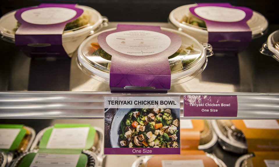 Photo -  Prepackaged meals at the Provision Kitchen. [Photo by Chris Landsberger, The Oklahoman]