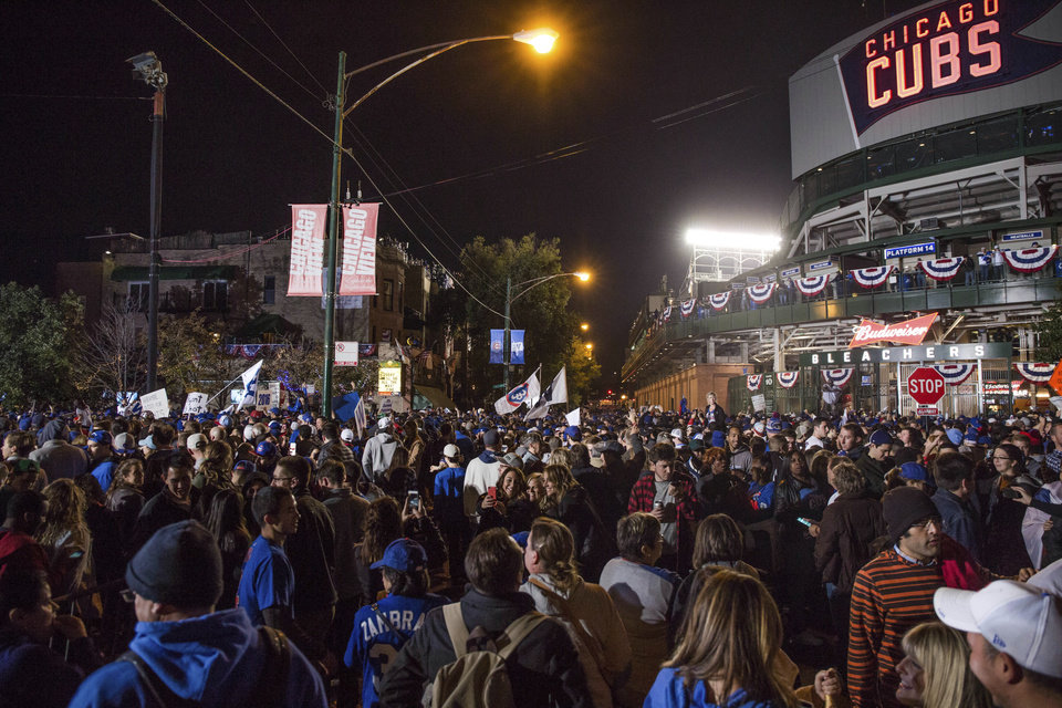 Cubs Fans Elated For First Trip To World Series In Over 70