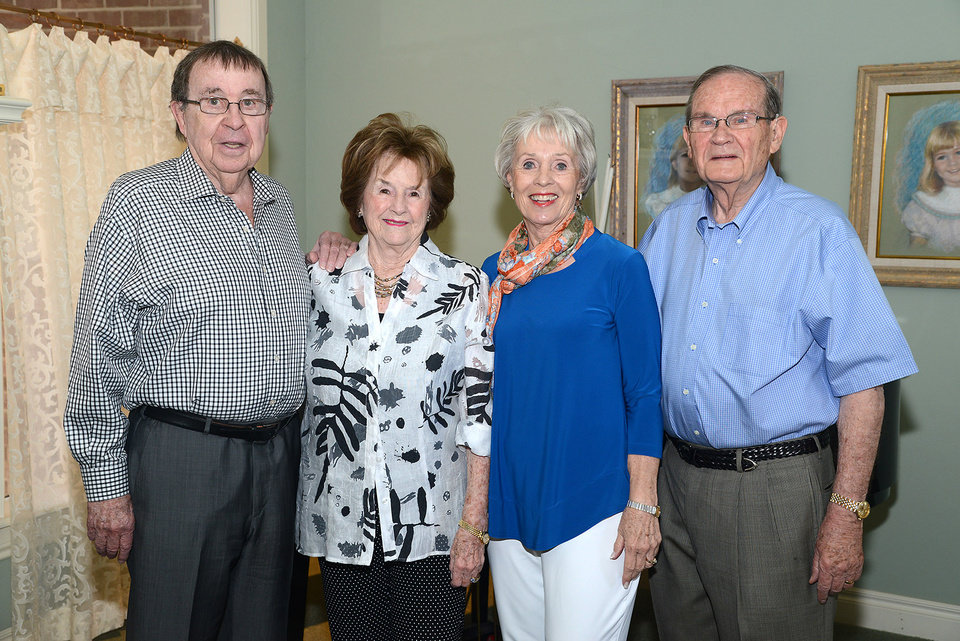 Photo -  Joe Dan Trigg, Janice Trigg, Lynne and John Trigg. Photos by David Faytinger, for The Oklahoman