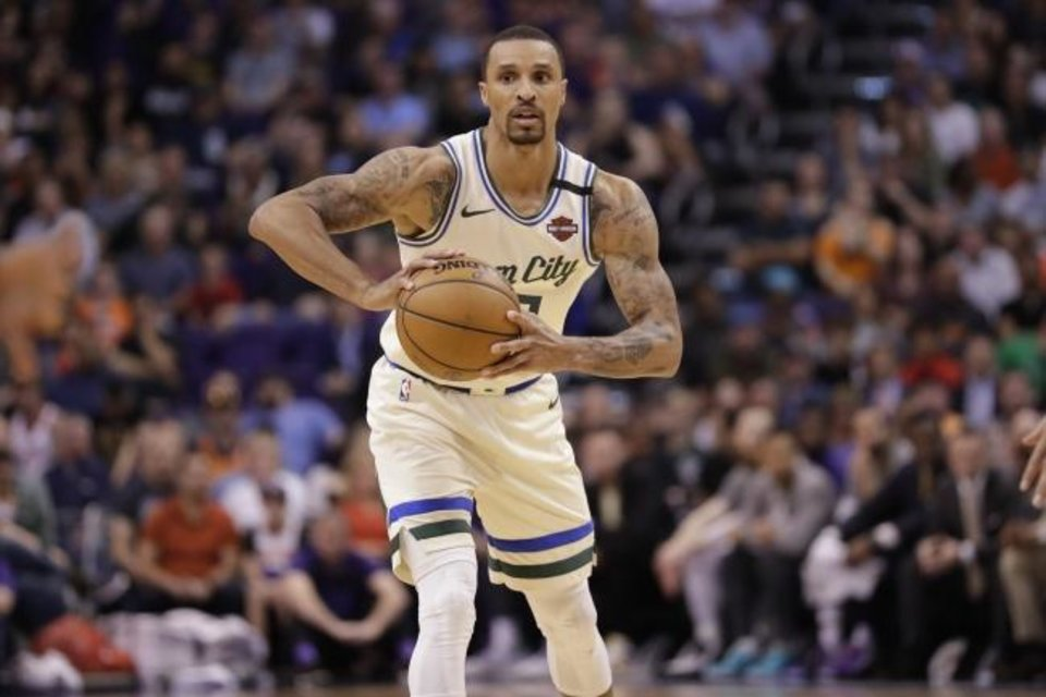 OKC Thunder: George Hill embracing role on young, rebuilding team