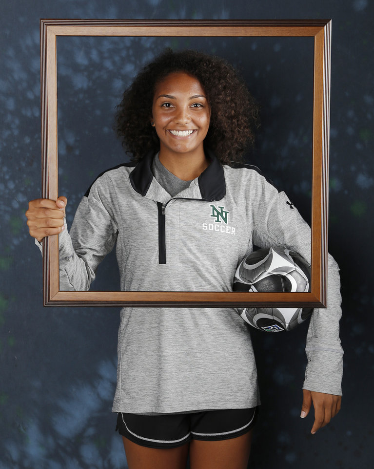 Photo - Yazmeen Ryan, Norman North, soccer. All City. Friday, June 2, 2017. Photo by Doug Hoke, The Oklahoman.