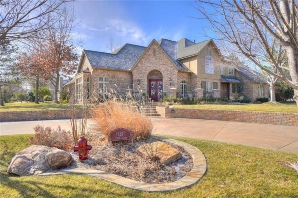 Photo -  This 5,383-square-foot home at 18817 Otter Creek Drive in Mulholland addition is listed for $912,500 with Sharlene Welch, of Churchill Brown & Associates Realtors. [PROVIDED]