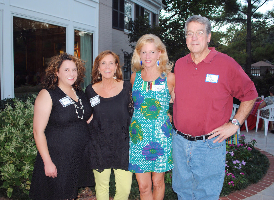 Photo -  Tina Izadi, Claudia Robertson, Susan Chambers, Kyle Toal. [PHOTOs PROVIDED]