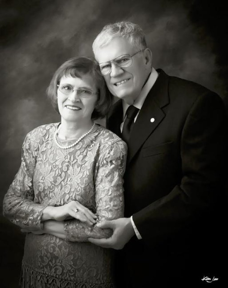 Photo -  50 years: Mary and Morris Webb Jr. were married July 11, 1969, in Oklahoma City.