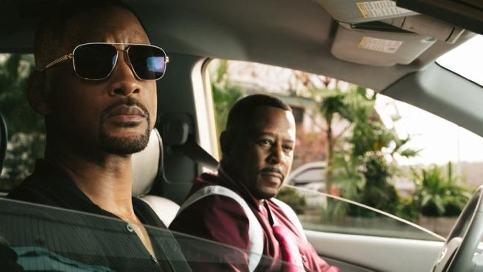 Photo -  Will Smith, left, and Martin Lawrence star in