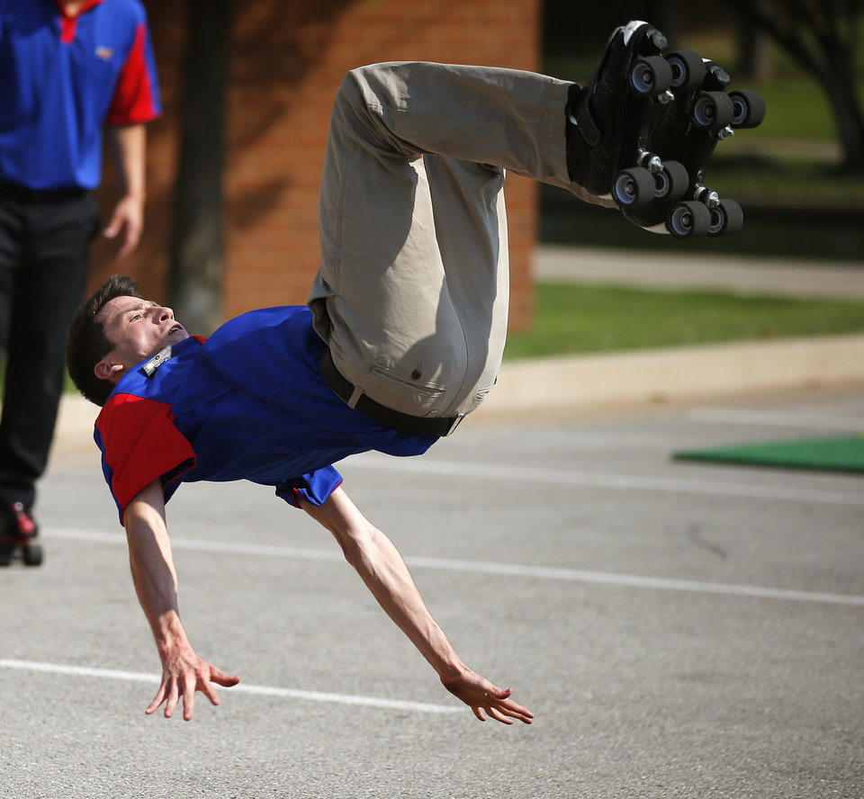 sonic carhops prepare for skating competition in oklahoma city sonic carhop joshua tucker from dothan ala works on a routine for the sonic skate off in oklahoma city tuesday 25 2015 photo by bryan terry