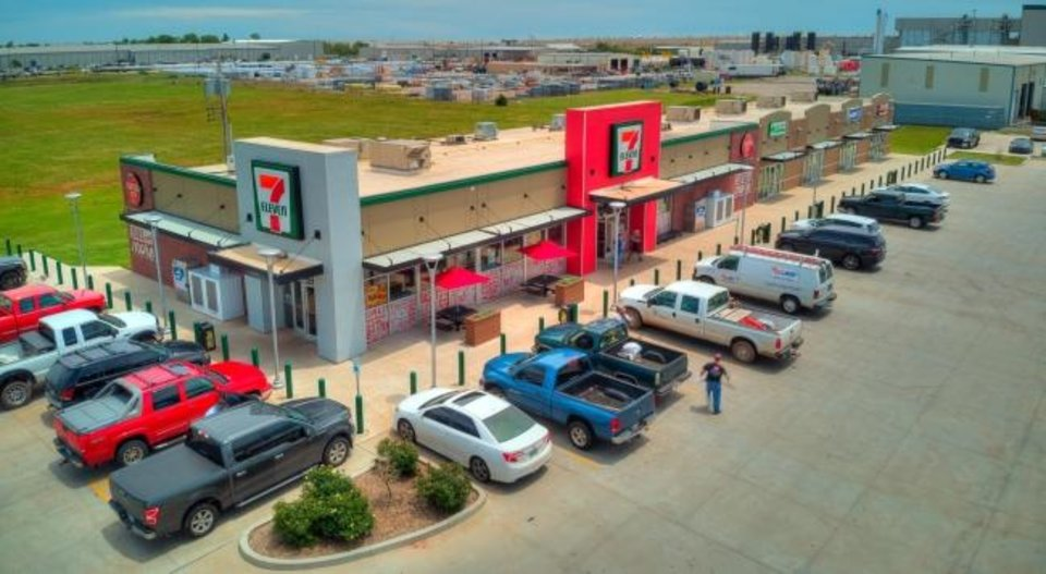 Photo -  7-Eleven Stores' location at 3000 S Council Road in Oklahoma City is shown. [PROVIDED]