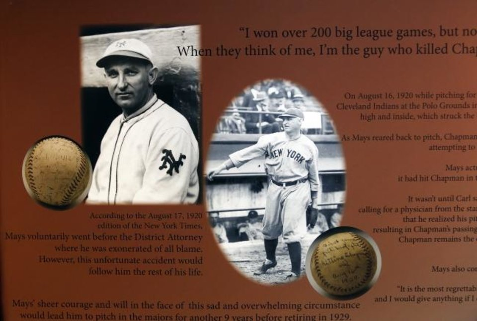 Is Ray Chapman's death keeping Carl Mays out of Cooperstown?