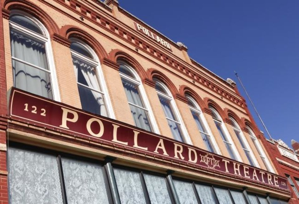 Photo -  The Pollard Theatre in historic downtown Guthrie, is launching is 2019-2020 season Aug. 23-Sept. 7 with