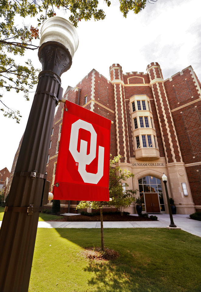Photo -  Dunham College is one of two residential colleges for upperclassmen at the University of Oklahoma. OU officials report the two residential colleges are at 70 percent occupancy for the fall semester. [Photo by Steve Sisney, The Oklahoman]
