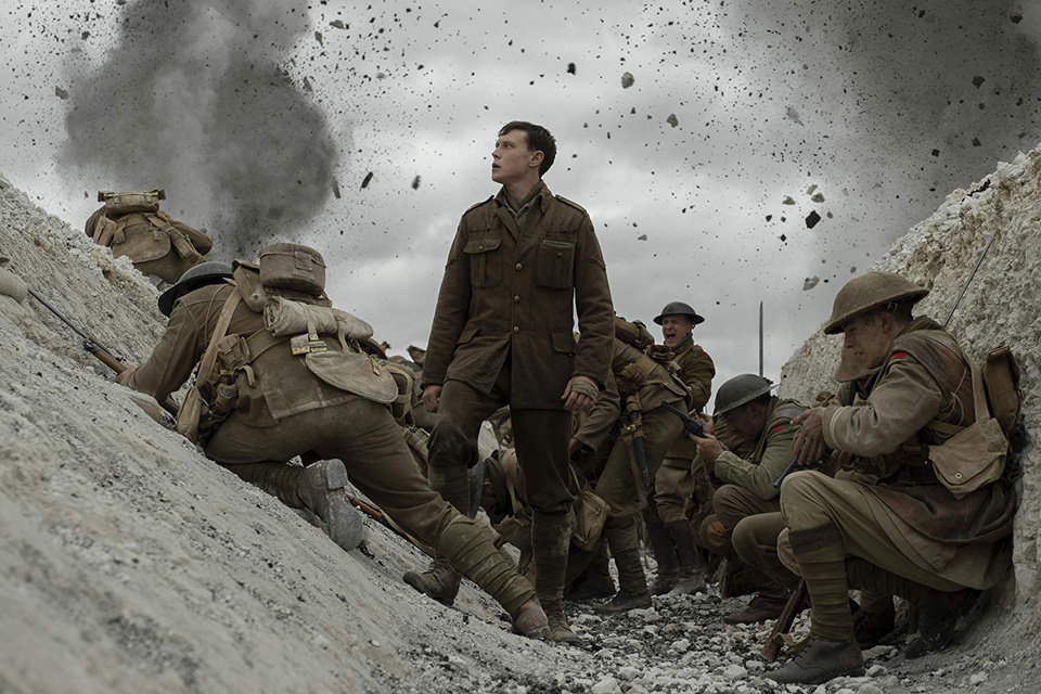 Photo - George MacKay, center, stars in