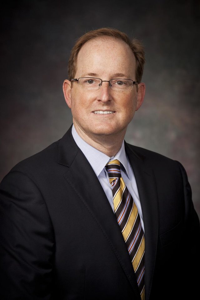 Photo -  Dr. Harold Burkhart is chief of pediatric cardiothoracic surgery at The Children's Hospital at OU Medical Center.  Photo provided.