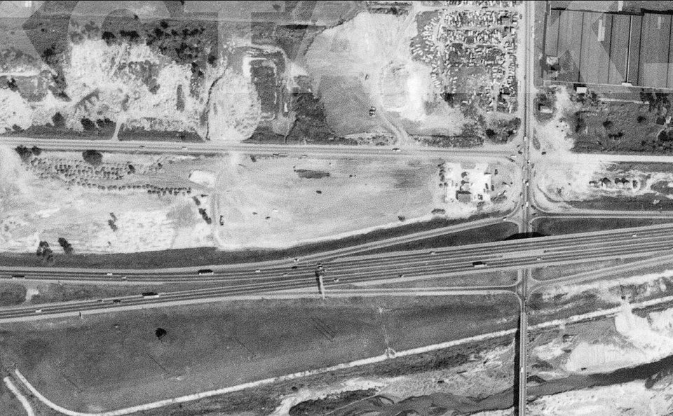 Photo -  Reno and Eastern, 1969. Image from www.okctalk.com, which has 1969 aerial photos of the entire city.