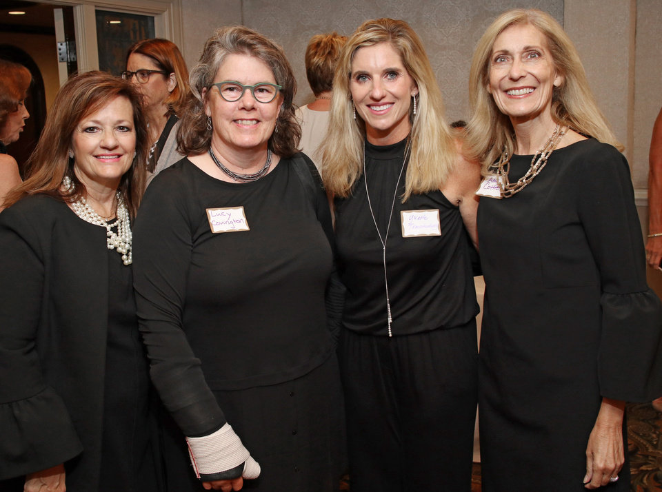 Photo - Lee Ann Nordin, Lucy Covington, Yvette Trachtenberg, Amy Cottrell. PHOTO BY DOUG HOKE, THE OKLAHOMAN