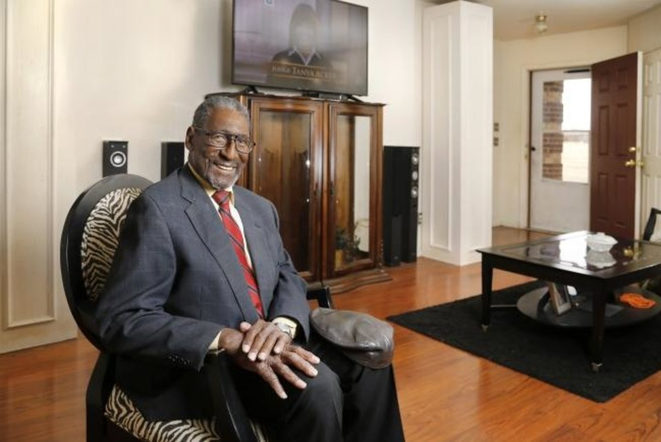Photo -  Carl Carbin, 90, blazed a trail for African-American Realtors in Oklahoma City. [PHOTO BY JIM BECKEL, THE OKLAHOMAN]