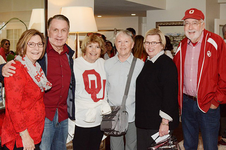 Photo - Cheryl Sanderson, Porter Morgan, Cheryle Hambleton, Marilyn Redwine, Sally Bentley, Kenyon Morgan. PHOTO PROVIDED