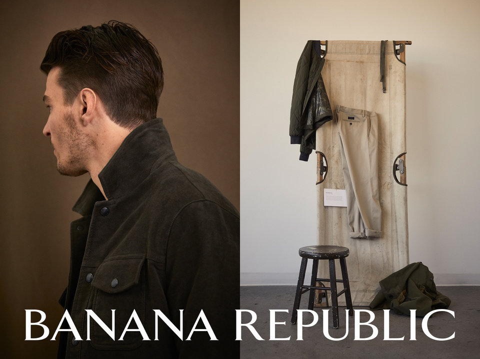 Photo - Banana Republic's new ad campaign.