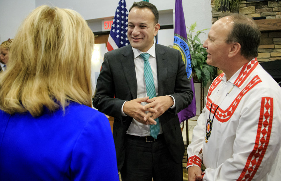 Irish prime minister visits the Choctaws to thank them for