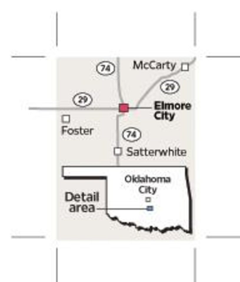 Photo - ELMORE CITY / MCCARTY / FOSTER / SATTERWHITE / MAP / GRAPHIC