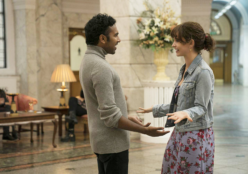 Photo - Himesh Patel and Lily James star in