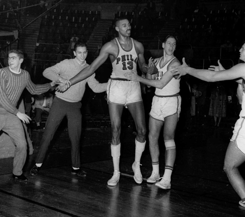 single men over 50 in chamberlain Wilt chamberlain was a polarizing figure in professional sports, and stood out not only for his size but also for his over the top  triple-doubles in single.