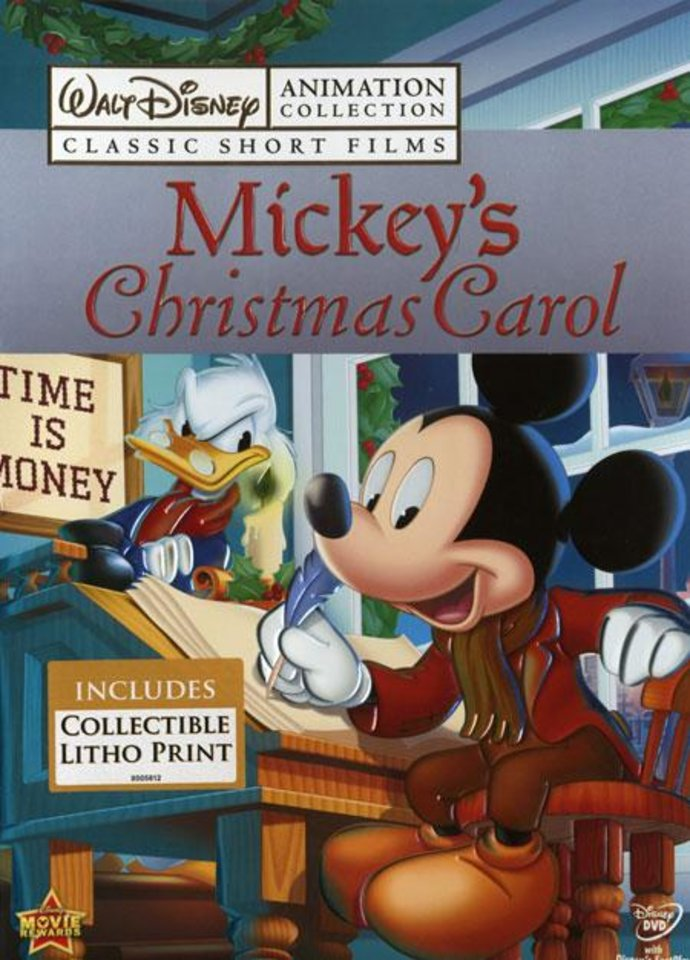 mickeys christmas carol the 1983 animated retelling of the charles dickens favorite becomes the seventh release in the walt disney animation collection - Mickeys Christmas Carol Dvd