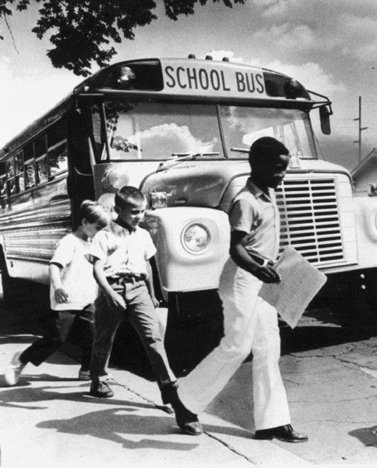 Photo - School Busing in Oklahoma City