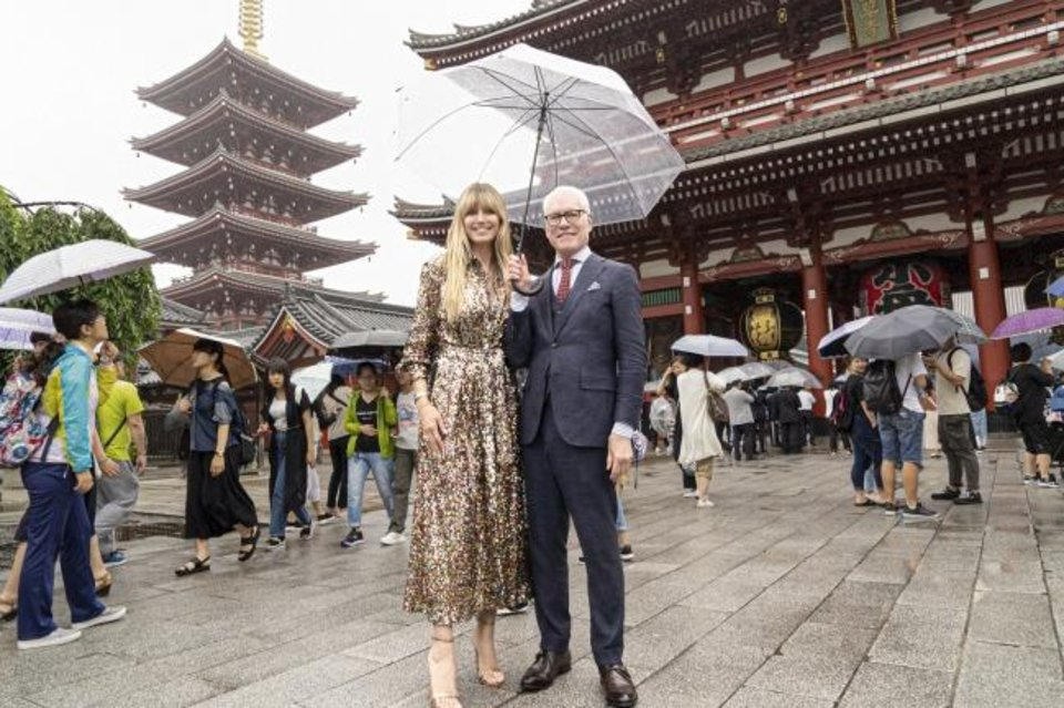 Photo -  Heidi Klum and Tim Gunn appear in Tokyo in the hotly anticipated new Amazon Original series