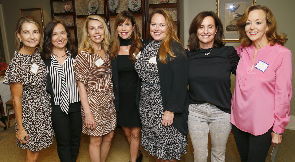Photo - Debbie Downs, Liz Gawey, Theresa Bozalis, Mary Jane Lauderdale, Kim O'Connor, Susan Silver, Karen Hanstein. NATE BILLINGS, THE OKLAHOMAN PHOTO