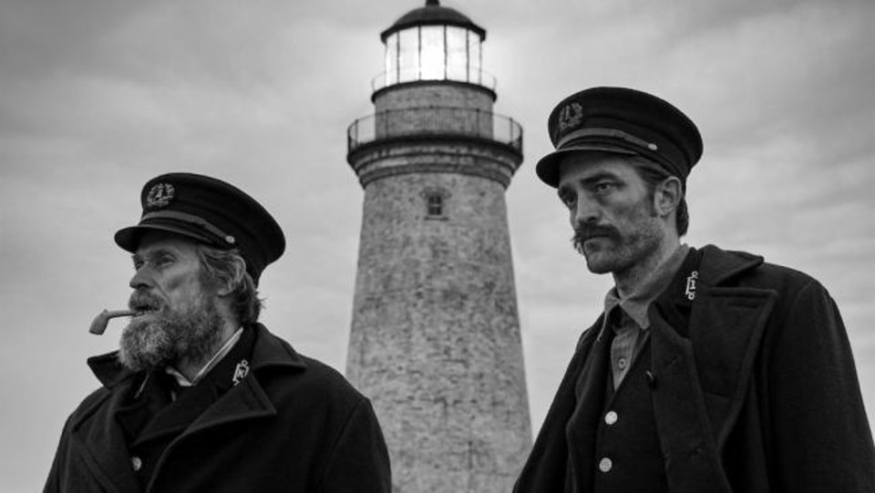 Photo -  Willem Dafoe, left, and Robert Pattinson star in